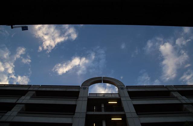 Sky Portal (BART at Sunset)