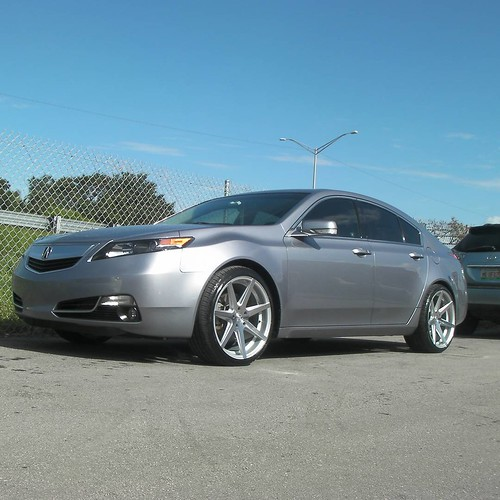 "Cheap Acura Tl For Sale: 20"" Inch Rohana RC7 Machine Silver Brushed Wheels 2013 Acu"
