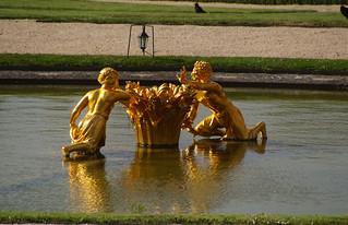 128 Kasteel van Versailles tuinen