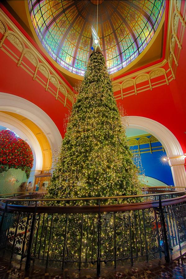 Mall Christmas Tree