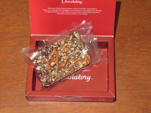 London Kit Kat Chocolatory - Butterscotch, Pretzel & Pecan