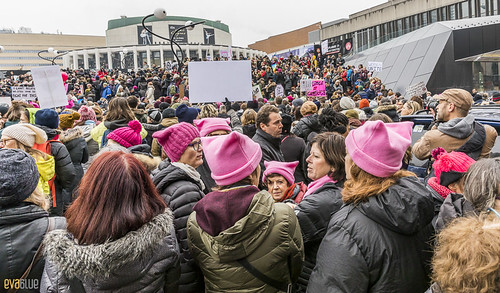 manif des femmes women's march montreal 30 | by Eva Blue