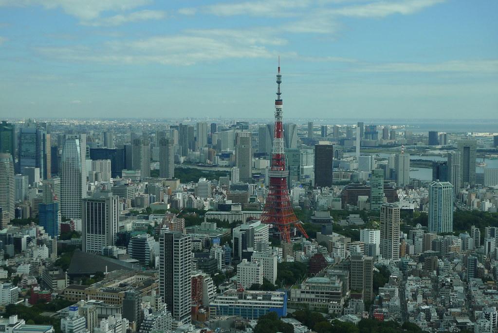Mori Tower Aussicht: Blick auf den Tokyo Tower