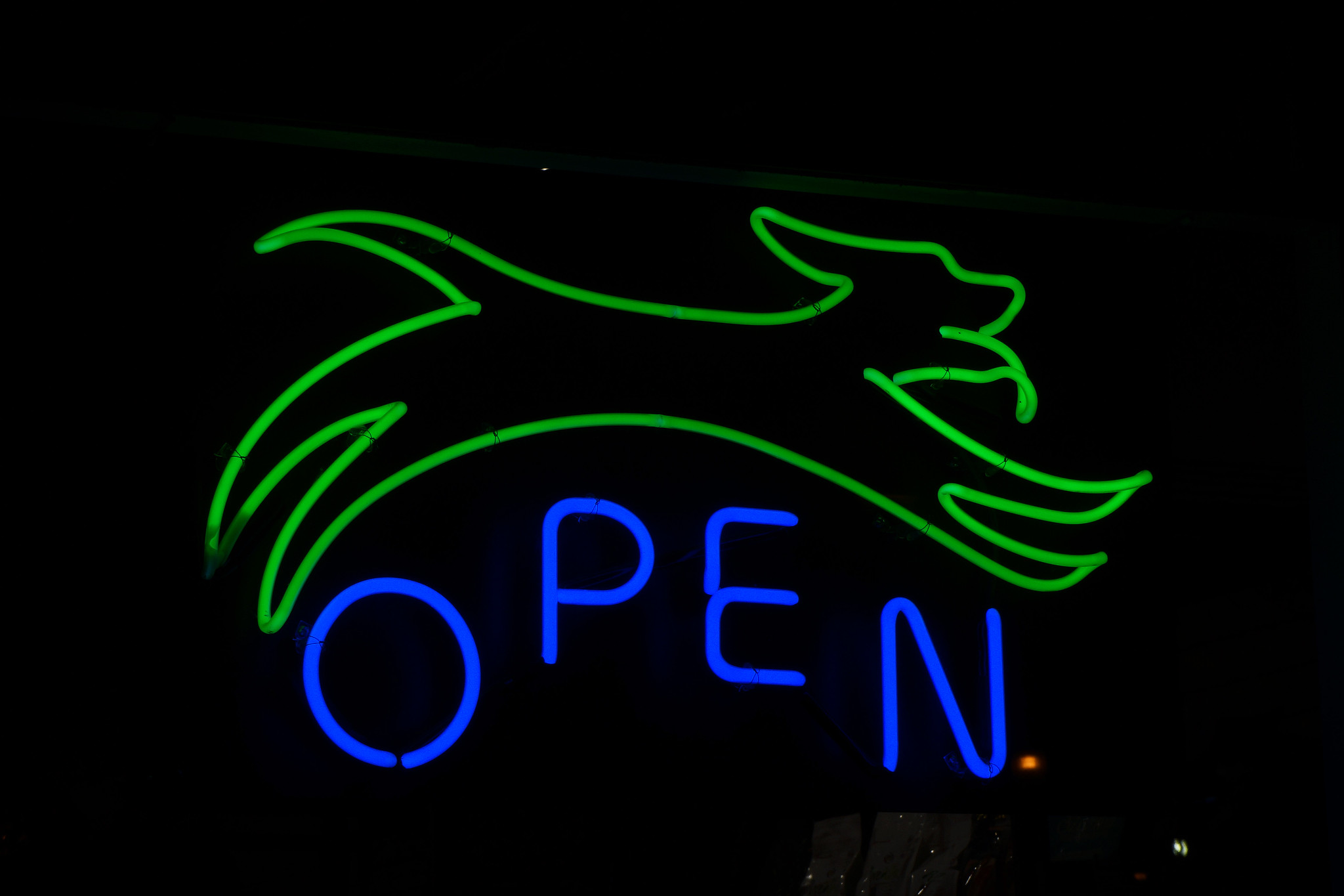 Whole Dog Market Neon