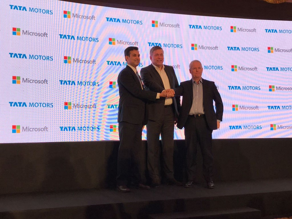 Tata-Motors-Microsoft