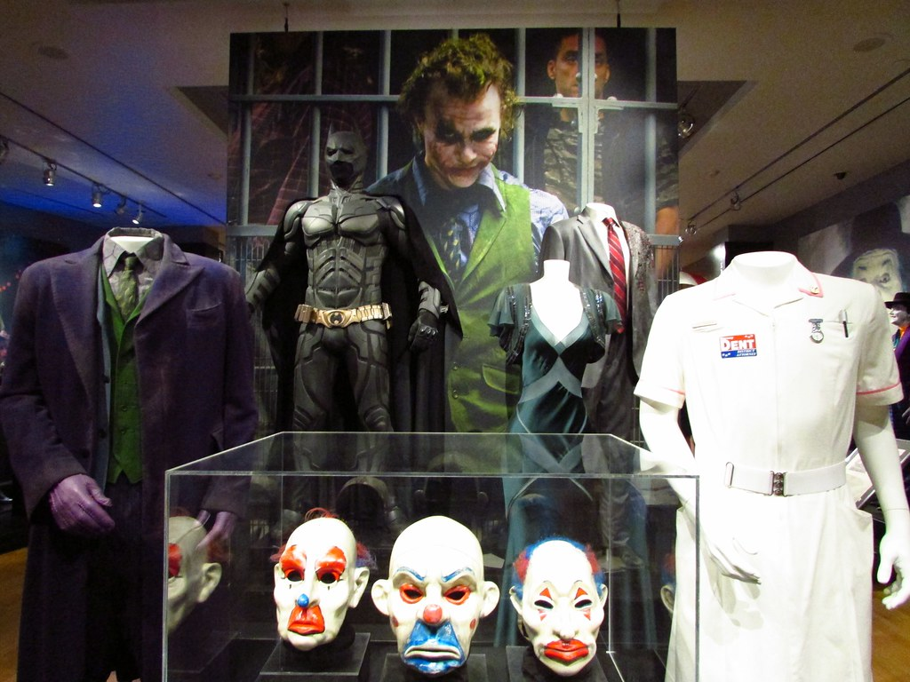 The Joker masks and co...