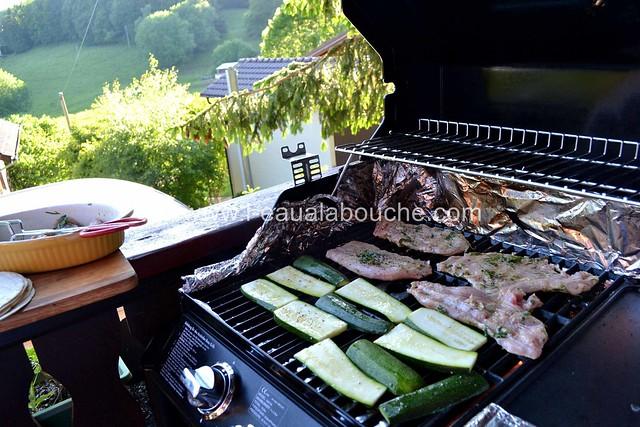Dinde au Citron Vert & Gingembre Courgettes Grillées © Ana Luthi  007