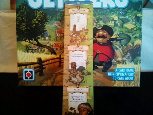 028 - Imperial Settlers action phase; trading meeples 1