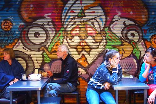 Graffiti, Melbourne laneway