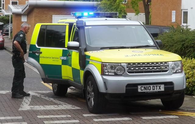 London Ambulance Service (7) @ Gallions Point 22-06-15
