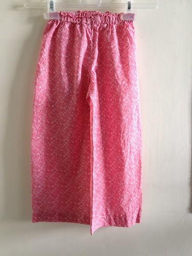Sew-Pink Flower Pyjamas