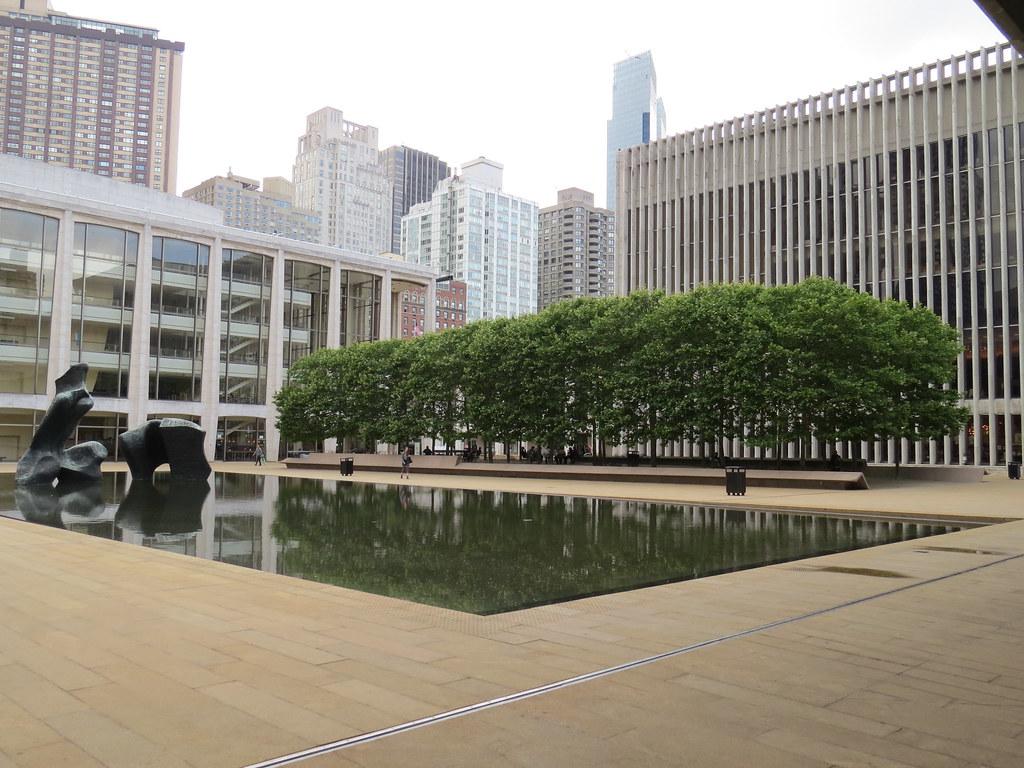 Lincoln Center Bosque Barclay Capital Grove New York