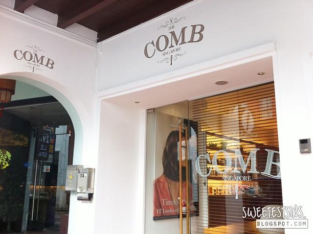 the comb hair studio