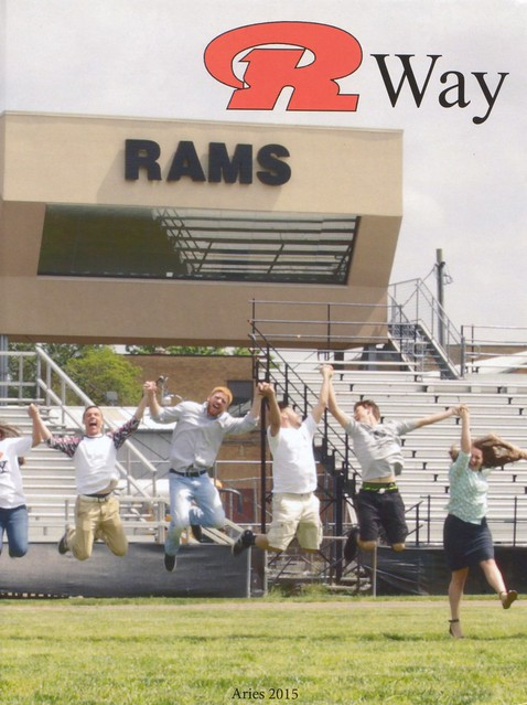2015 Raceland High School Yearbook