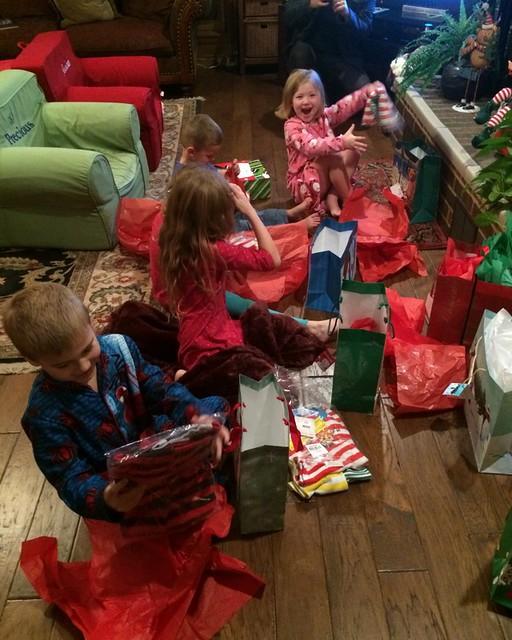 School Christmas Party's and Kiki's 201430