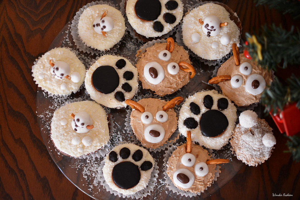 Christmas cupcakes ideas!