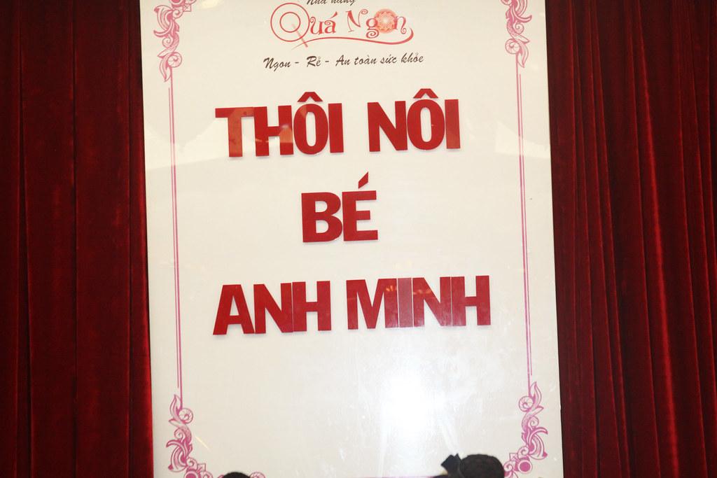 Sinh nhật bé Anh Minh