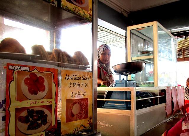 Grace Cafe muslim food stall