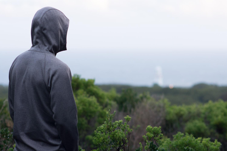 Eric overlooking Cape Otway Lightstation