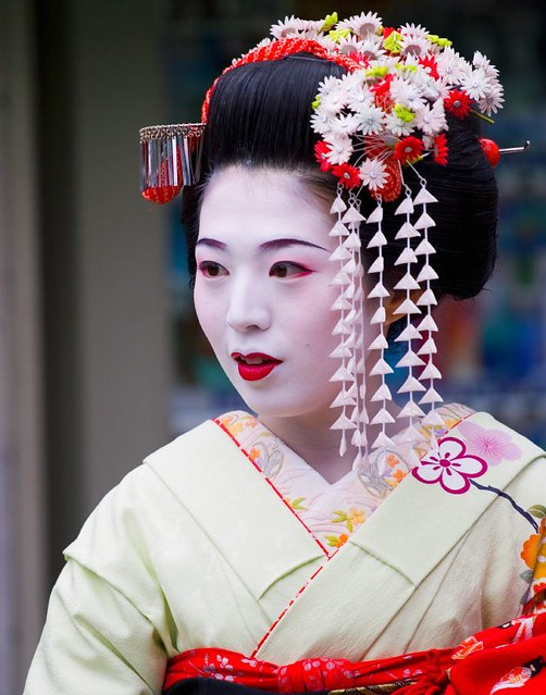 Geisha Girl In Zion Kyoto Las0m Flickr
