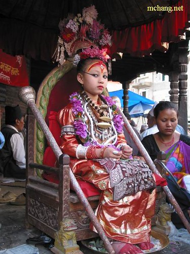 Kumari - Living Goddess of Nepal | patan, nepal. it's very ...