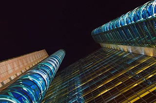 Dubai Towers By Night F | by G J C