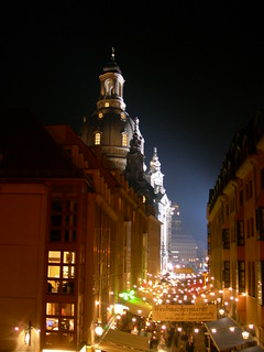 Münzgasse and the Frauenkirche | by csaavedra
