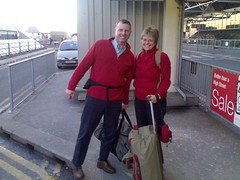 Mags & Keith head to South Africa | by textlad