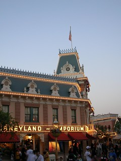 Disneyland Store at Dusk | by Brave Heart
