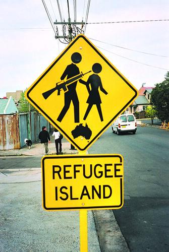 Refugee Island Australia C