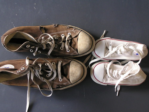 Dad have worn shoes, me: white | by Môsieur J. [version 9.1]