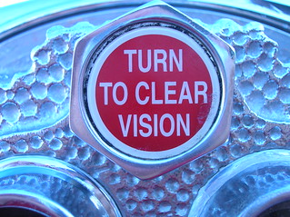 turn to clear vision | by jensect