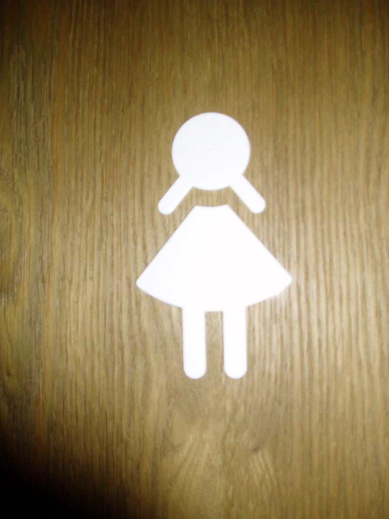Bathroom Signs In Germany pictogram girl | this is one of the most sexist pictograms e… | flickr