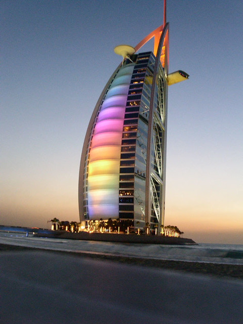 Dubai burj al arab 7 star hotel flickr photo sharing for The sail hotel dubai