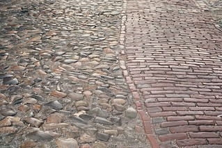 cobbles and brick | by djprybyl