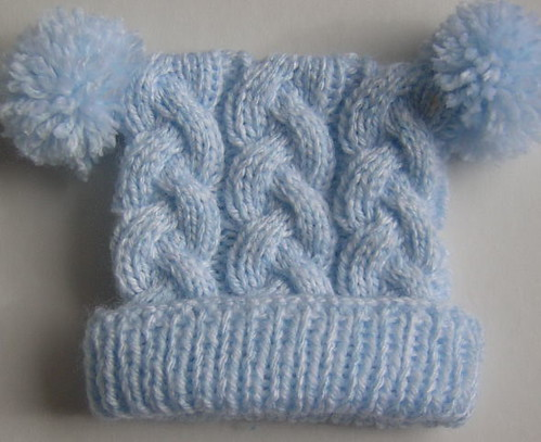 Cabled Baby Hat Libby Flickr