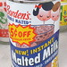 Borden's Chocolate Malted Milk Can, 1950's