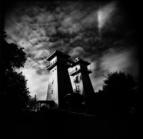 Holga: Twin Towers, Irish Hills, MI | by Matt Callow