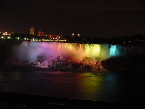 The Falls at Night 3 | by C.P.Storm