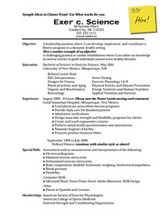 Sample Resume Recent Colege Gra