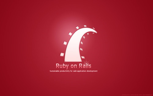 Ruby on Rails Wallpaper | by Justin Palmer