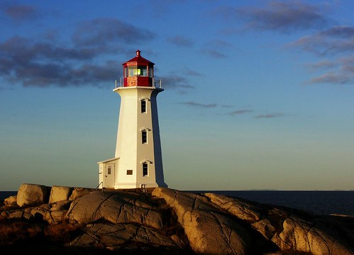 Peggy's Cove at Dawn | by Bob Jagendorf