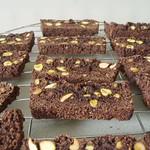 Chocolate & Pistachio Biscotti