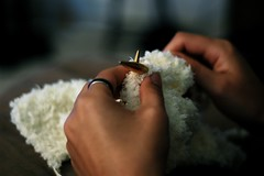 making a new blankie | by Gideon Tsang