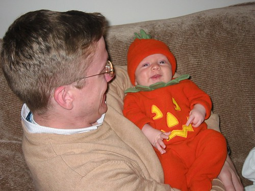 Little Pumpkin and Daddy! | by brookeandandy