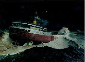 Edmund Fitzgerald 11 10 75 The Gales Of November Are