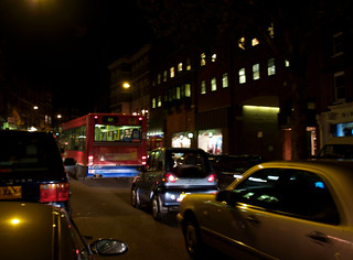 hampstead at night - traffic | by neonlike
