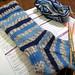 Starter Stockinette Socks - Progress