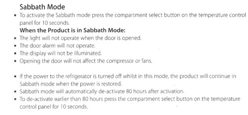sabbath mode fridge i bought a new fisher paykel actives flickr. Black Bedroom Furniture Sets. Home Design Ideas