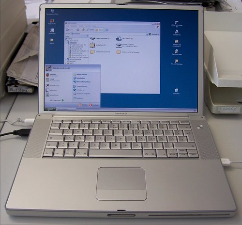 Windows auf Powerbook | by FastJack
